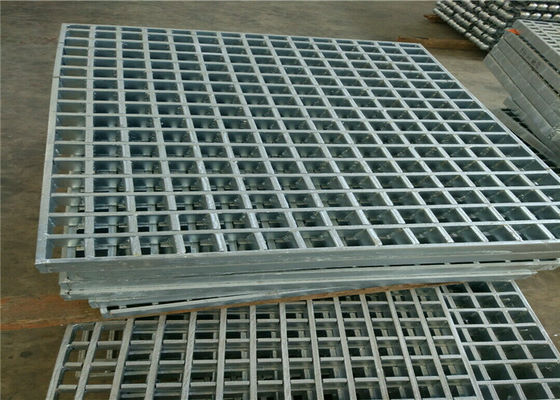 Durable Pressure Locked Steel Bar Grating High Strength For Carwash Shop