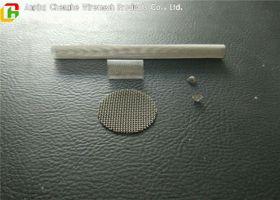 Sheet / Tube Filter Screen Mesh 2 - 1000 Mesh Plain Weave Style For Machine Making