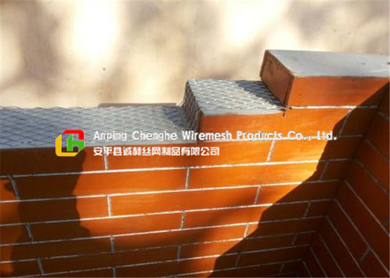 Wall Construction Metal Mesh , House Security Expanded Steel Mesh Sheets