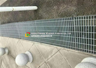 Galvanized Pedestrian Grating Trench Grate , Drain  Cover for Drainage System