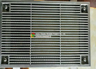 Construction Anti Theft Heavy Duty Steel Grating , Steel Stair Treads Grating